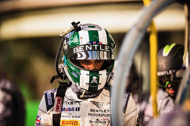 Sólido estreno de Andy Soucek a los mandos del nuevo Bentley Continental GT3