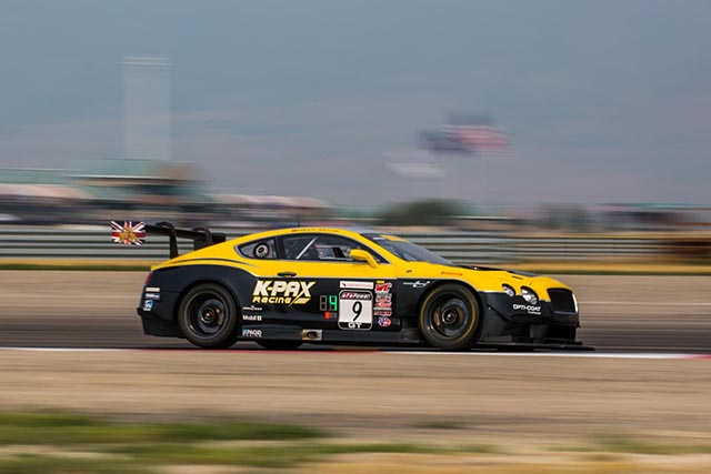 Quinto puesto para el Bentley Nº 9 tras un prometedor fin de semana en Utah